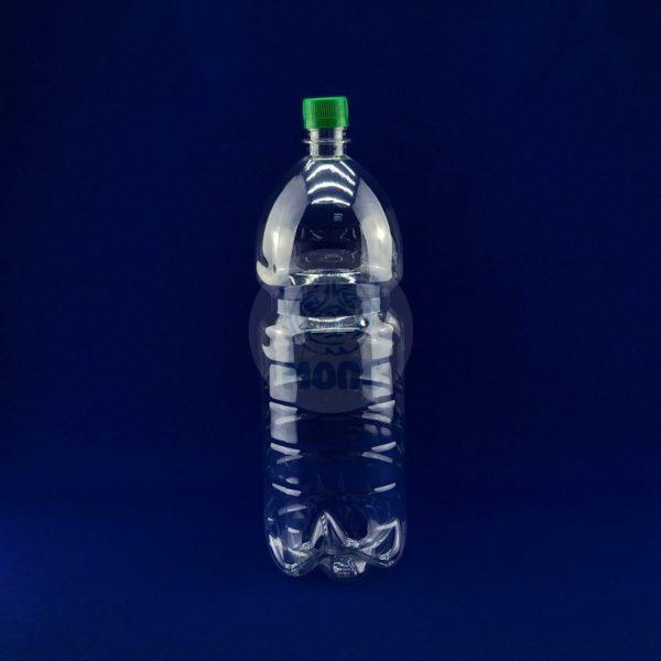 Бутылка пластиковая ПЭТ 2,0л прозрачная 1/80