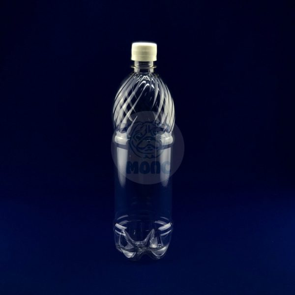 Бутылка пластиковая ПЭТ 1,0л прозрачная 1/117