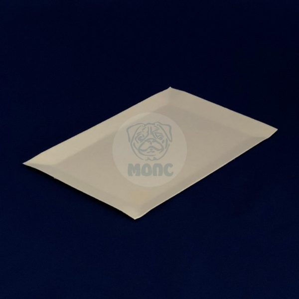 Тарелка бумажная одноразовая прямоугольная белая 11*17см 100/1500