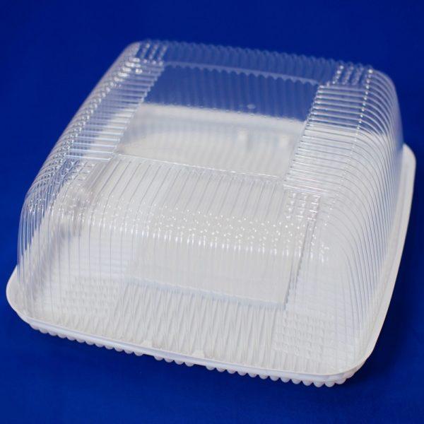 Контейнер для торта пластиковый одноразовый с крышкой Т-270 1/85