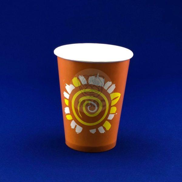 Стаканчик бумажный 300мл RPE 300 для холодных напитков 50/1000