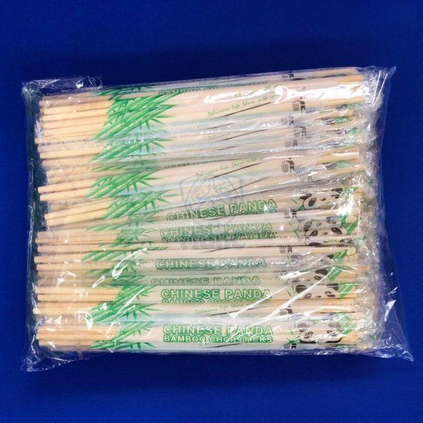 Палочки для суши бамбуковые 23 см с зубочисткой круглые ( 100 пар) 1/30