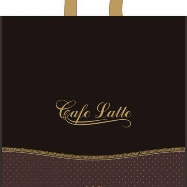 Пакет с петлевой ручкой «Кафе» 45*43 25/400