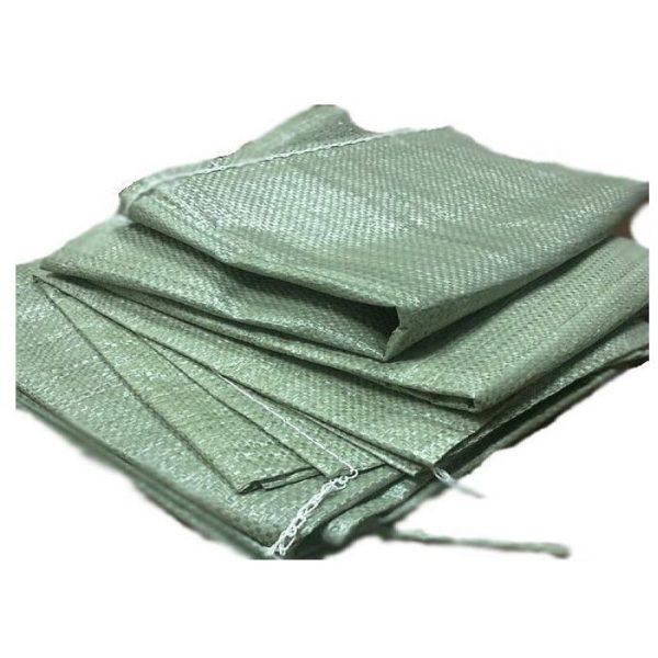 Мешок полипропиленовый зеленый 50кг 55*105см 100/1000