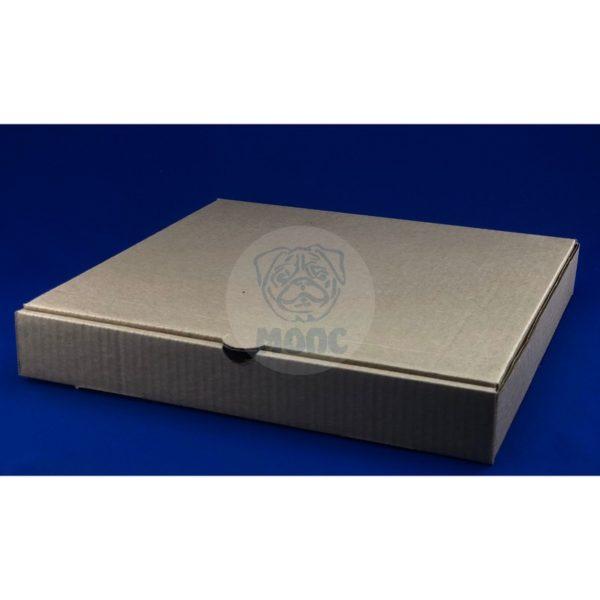 Коробка под пиццу 30см бурая 330*330*45мм 1/50