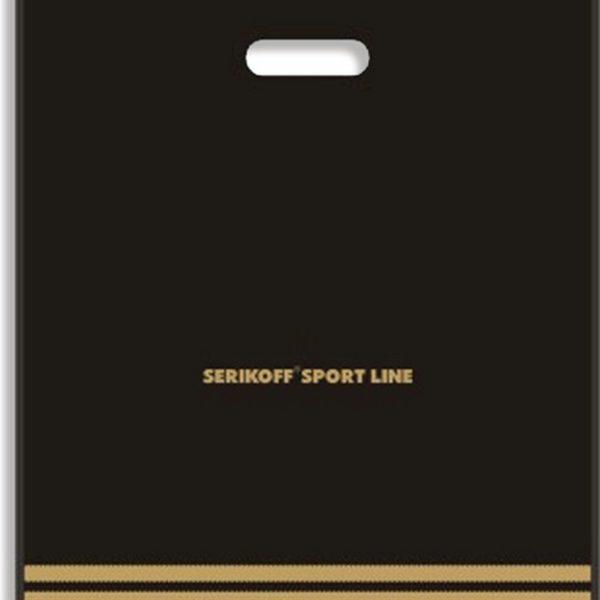 Пакет с вырубной ручкой «Спорт» 40*47см 25/500