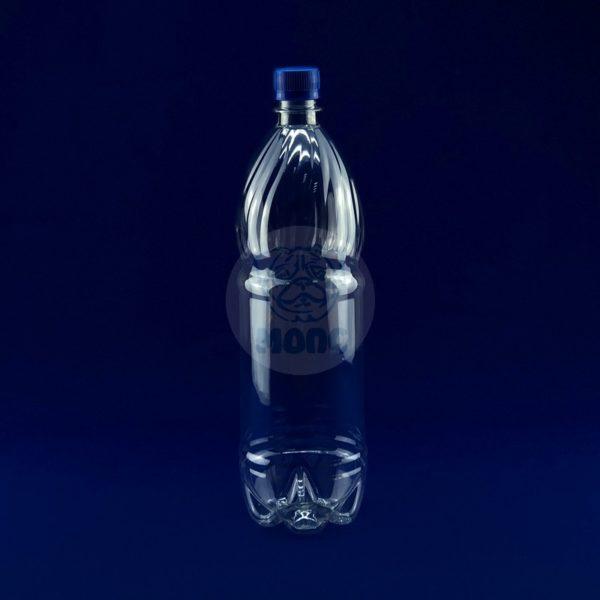 Бутылка пластиковая ПЭТ 1,5л прозрачная 1/100