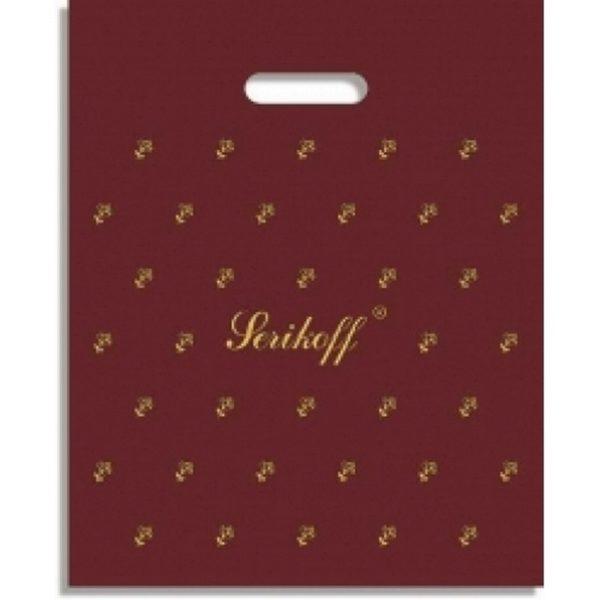 Пакет с вырубной ручкой «Подарочный» 30*37см 50/1000
