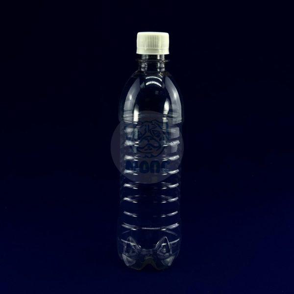 Бутылка пластиковая ПЭТ 0,5л прозрачная 1/200