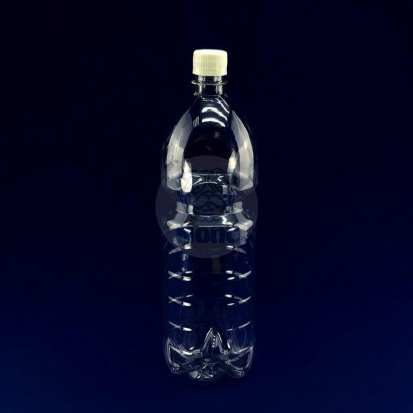 Бутылка пластиковая ПЭТ 1,485л прозрачная 1/100