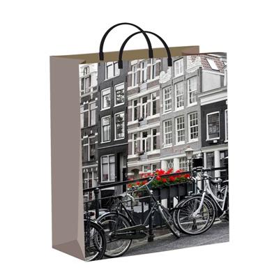 сумка пластик Голландия (40*30+14) Т 1/40