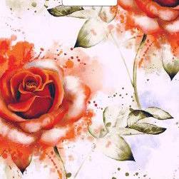 Пакет с вырубной ручкой «Дымчатая роза» 30*40см 50/1000