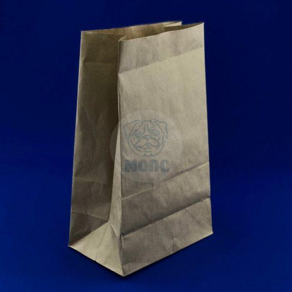 Пакет бумажный 300*180*110мм крафт под хлеб 1/500