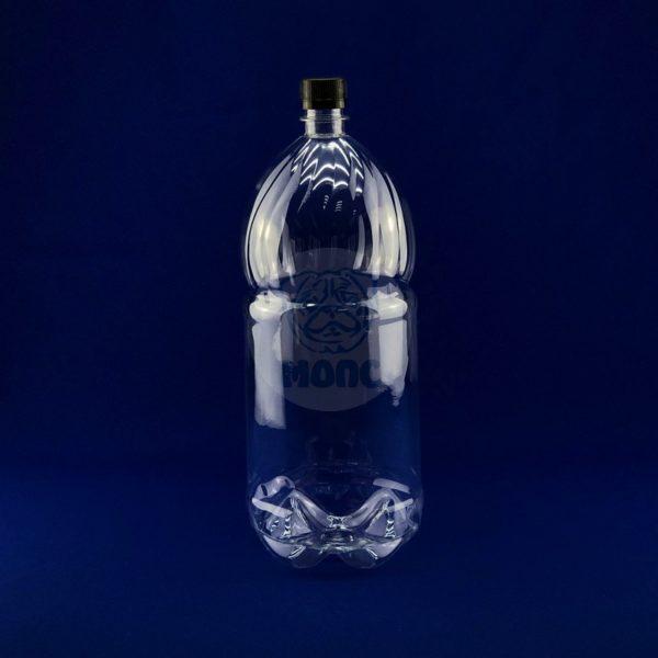 Бутылка пластиковая ПЭТ 3,0л прозрачная 1/55
