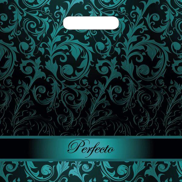 Пакет с вырубной ручкой «Перфекто Ультрамарин» 37*30см 25/400