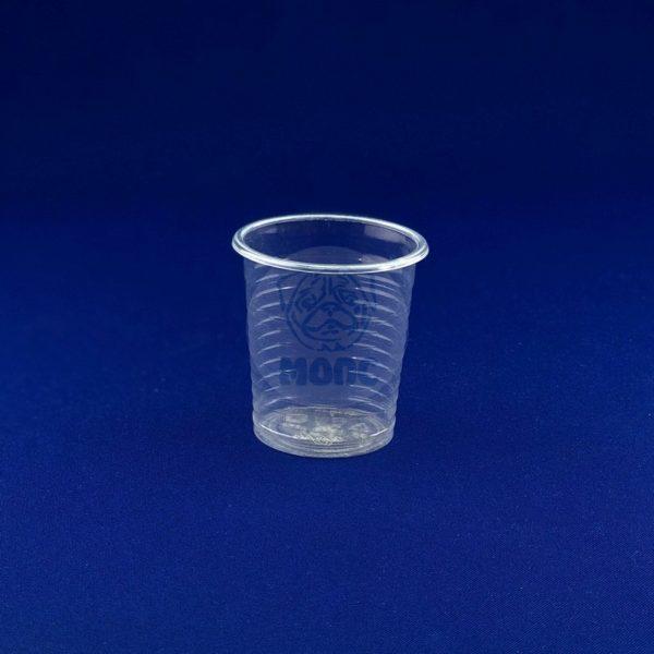 Стопка одноразовая пластиковая 80мл прозрачная 200/4000