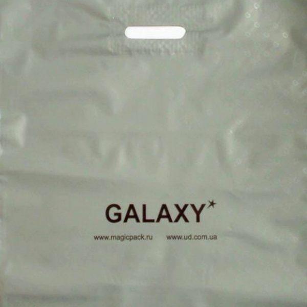 Пакет с вырубной ручкой «Галактика» 45*52см 25/400