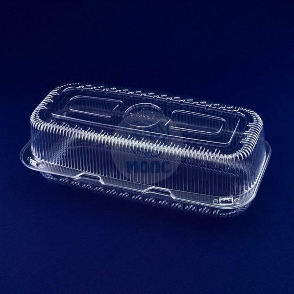 контейнер пищевой одноразовый пластиковый с крышкой РК-40 1/200