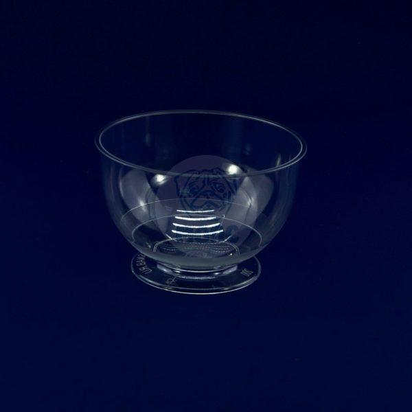 Креманка пластиковая прозрачная 200мл Кристалл (16шт) 1/12