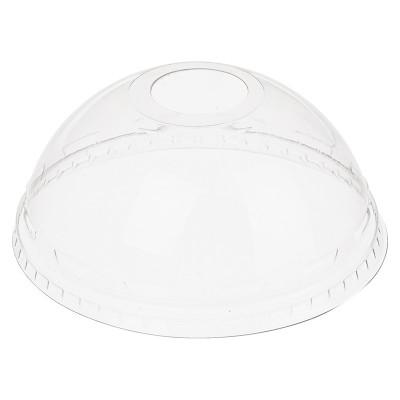 Крышка купольная Шейкер для стакана с отверстием d=95мм Pet (50шт) 1/20