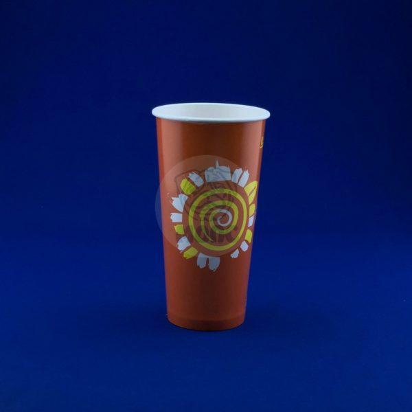 Стаканчик бумажный 500 мл RPE 500 для холодных напитков 50/1000