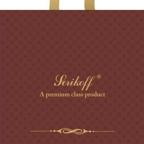 пакет прив (45х43 100мкм) Велюр коричневый С 25/400
