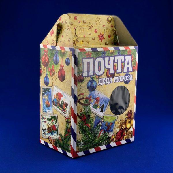 новогодняя коробка Почта Деда Мороза (2,0 кг) Т 1/100