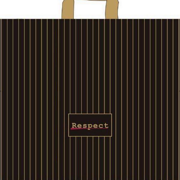 Пакет с петлевой ручкой «Респект» 45*43см 25/400