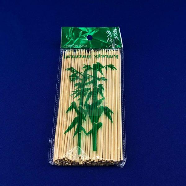 Шампур деревянный из бамбука 20см (100шт) 1/100