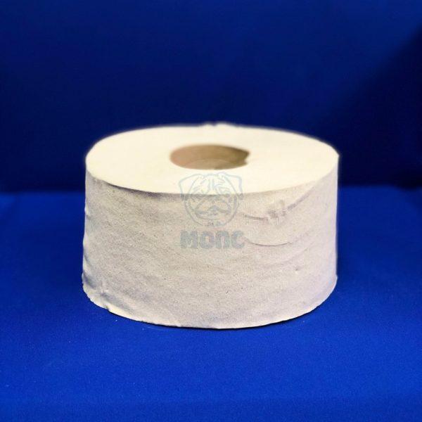 Туалетная бумага для диспенсера рулон 200м серая (12шт)
