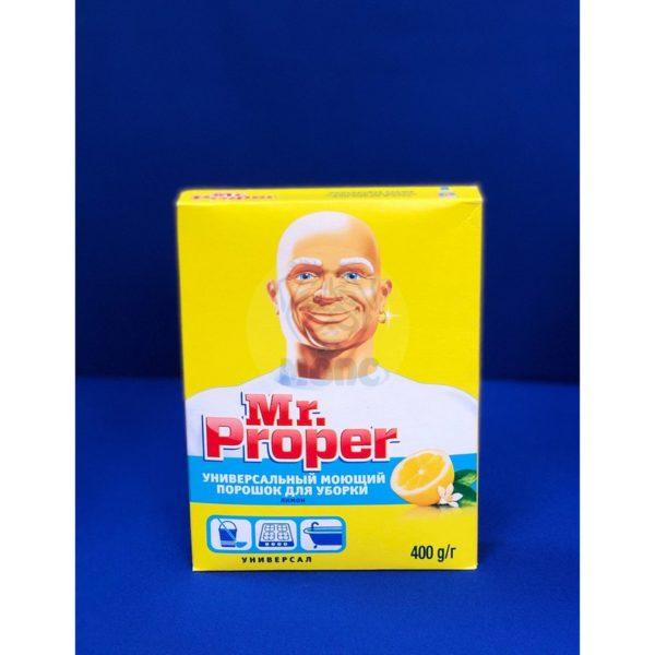 Порошок для мытья пола «Mr Proper» 0,4кг 1/22
