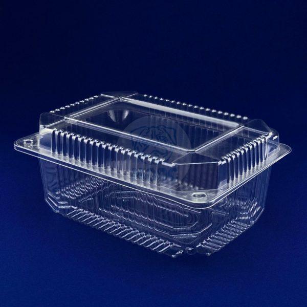 Контейнер пищевой одноразовый пластиковый с крышкой РП-27 1/150