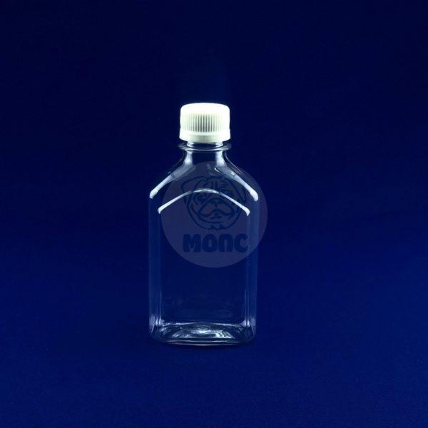 Бутылочка пластиковая «Фляжка» 0,25л 1/50