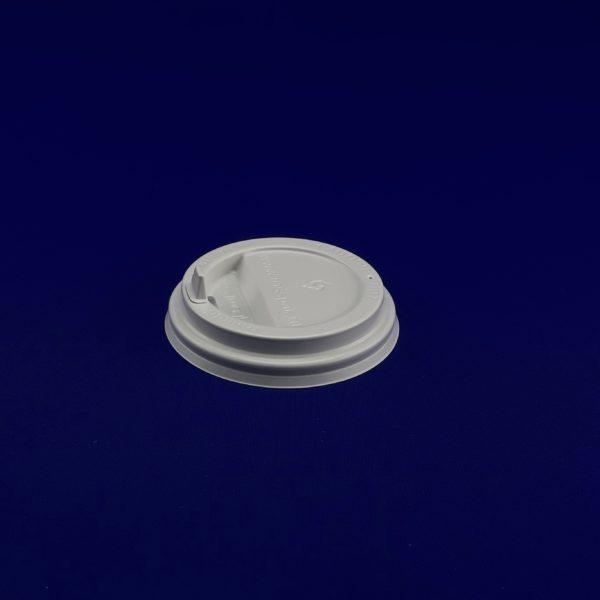 Крышка для бумажного стакана KF 300 белая 50/2000