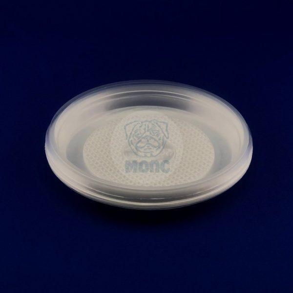 Набор тарелок десертных одноразовых прозрачных d 165 (10шт) 1/240