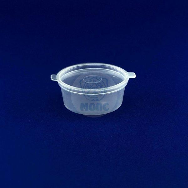 Соусник пластиковый с неразъемной крышкой 50мл 50/1200