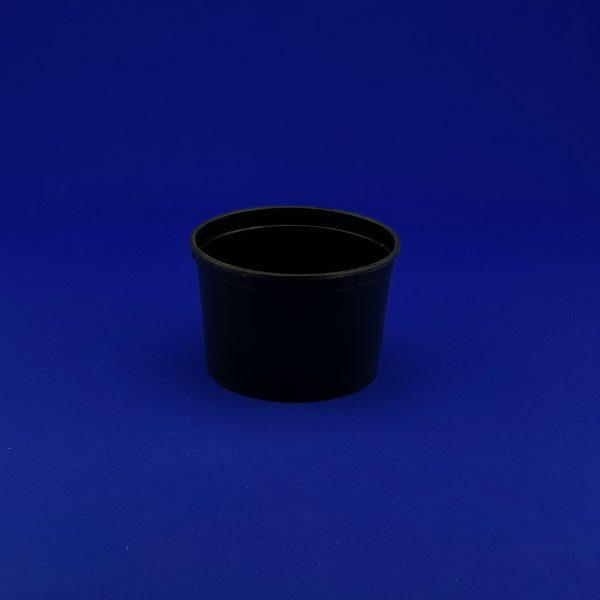 Контейнер суповой 0,5л черный 50/500
