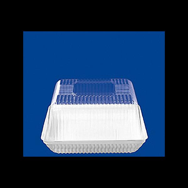 Контейнер для торта одноразовый пластиковый квадратный с крышкой Т-160 1/175