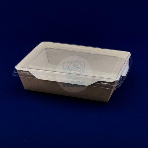 Упаковка для готовых блюд ECO ОрSalad 500мл (160*120*45мм) с крышкой 50/300