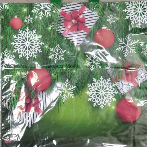 Пакет подарочный «Подарки в елках» (42х44) 50/300