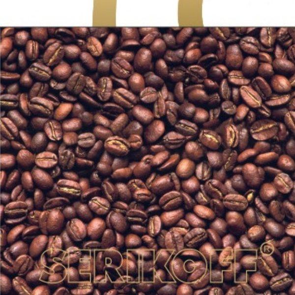 Пакет с петлевой ручкой «Кофе» 30*34см 50/700