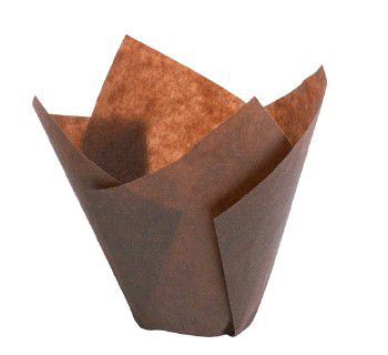 Форма бумажная для маффинов и капкейков «Тюльпан» 200/2400