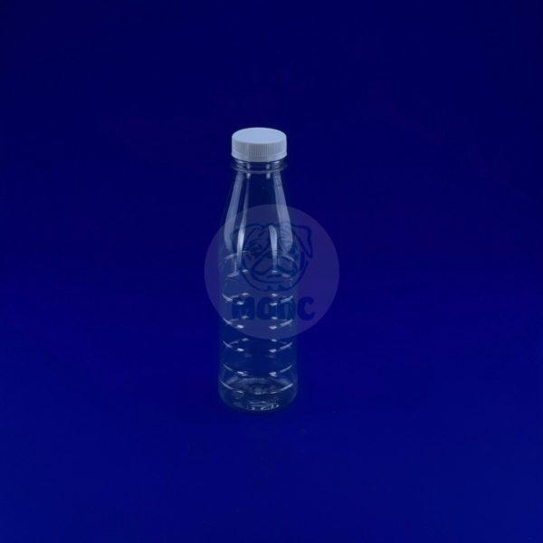 Бутылка пластиковая ПЭТ 0,5л прозрачная 1/100