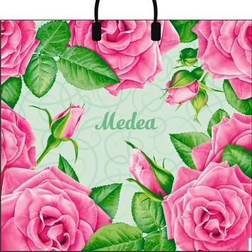 Пакет с пластиковой петлевой ручкой «Medea» 38*35см 10/100