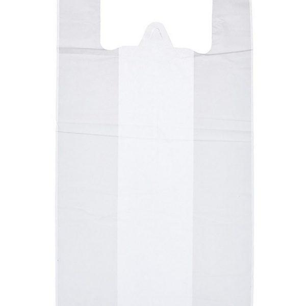 Пакет-майка ПНД Белая (28*55см 12мкм) 100/1000