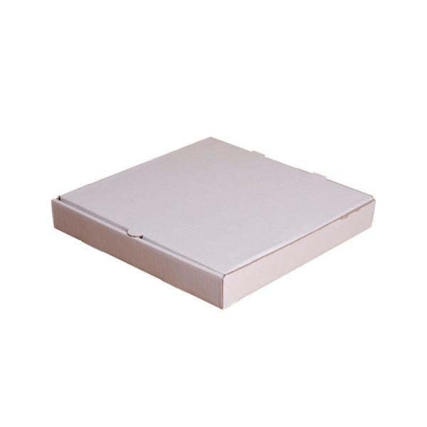 Коробка под пиццу 36см белая 360*360*45мм 1/50