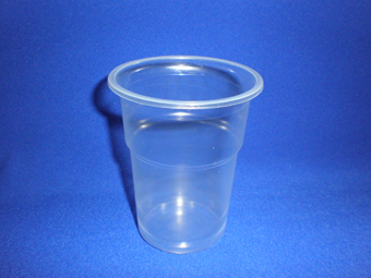 Одноразовый стакан 330мл пластиковый прозрачный 120/1920