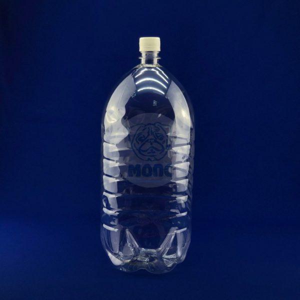 Бутылка пластиковая ПЭТ 4,0л прозрачная 1/36