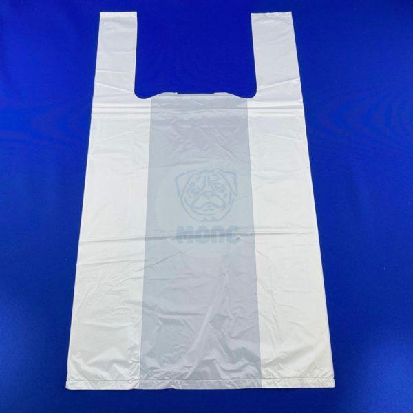Пакет-майка ПНД Белая 30*55см 18мкм 100/1000