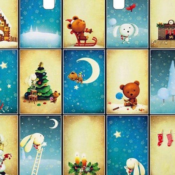 Пакет подарочный «Сон в Рождество» (38х34) 50/500